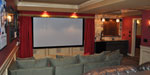 Custom Designed Theater Room